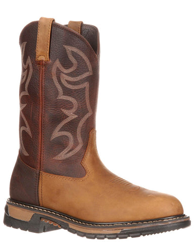 Mens Original Ride Branson Pull-On Boots