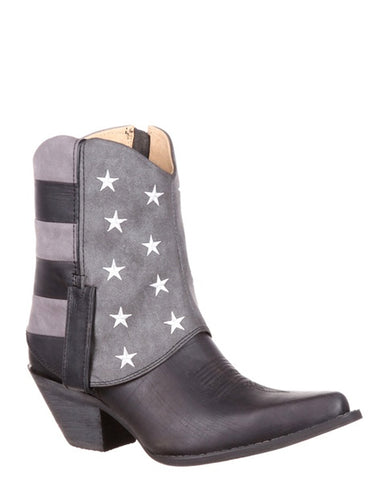 Womens Crush Fold Down Flag Bootie