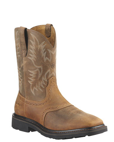 Men's Sierra Steel-Toe Pull-On Boots