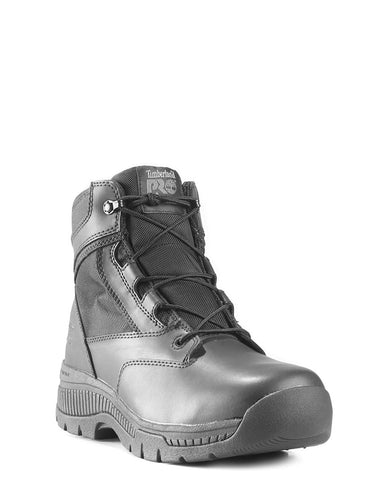 Mens Valor Side-Zip Waterproof Lace-Up Boots
