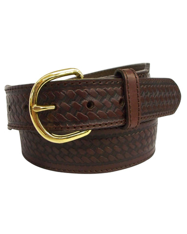 Mens Basket Weave Belt