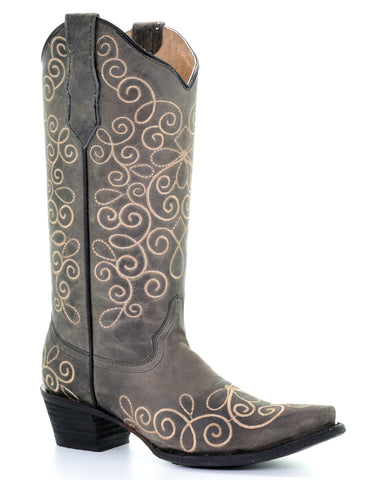 Women's Oxford Embroidered Western Boots