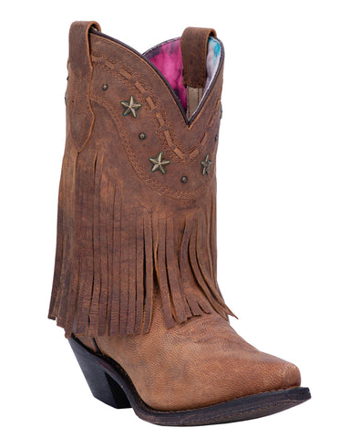 Womens Hang Low Fringed Boots