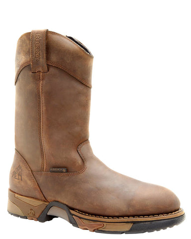 Mens Aztec Waterproof Pull-On Boots