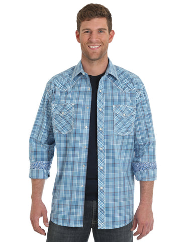 Men's 20X Competition Advanced Comfort Western Shirt - Light Blue
