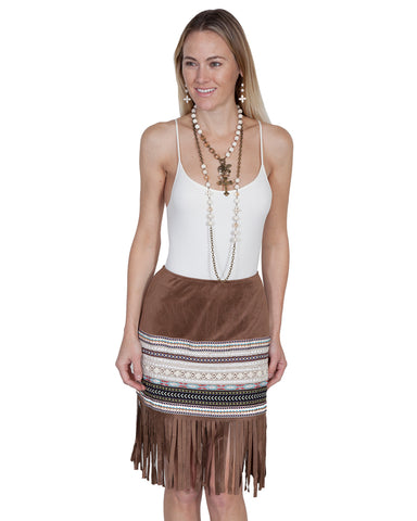 Women's Fringe Skirt