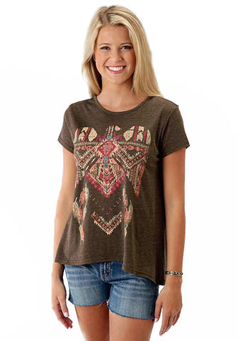 Women's Aztec Eagle Shirt