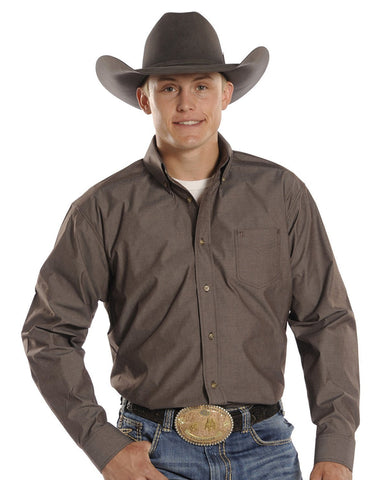 Men's Tuf Cooper Performance Western Shirt