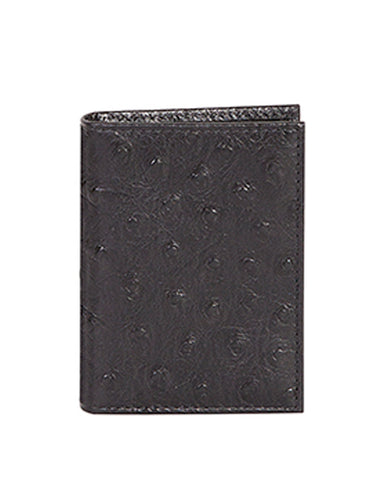 Men's Ostrich Card Case