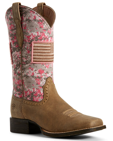 Women's Round Up Patriot Boots