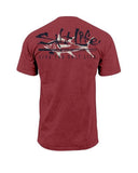 Men's Tuna Company Salt Wash T-Shirt - Red