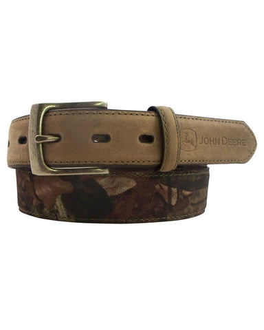 Kid's Mossy Oak Leather Belt