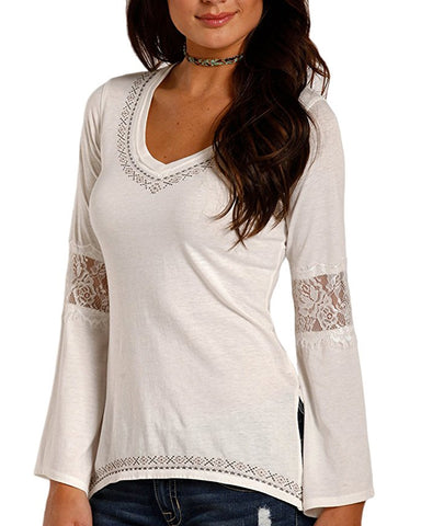 Women's Knit Long Sleeve Top