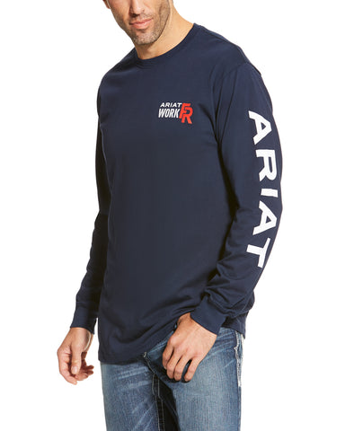 Men's Fire Resistant Logo Long Sleeve T-Shirt