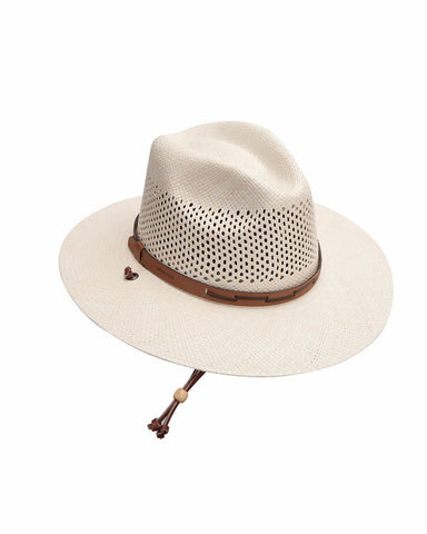 Stetson's Panama Airway Straw Hats