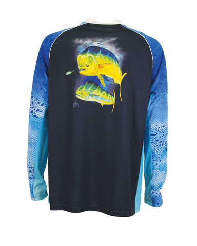 Men's Phaser Performance Long Sleeve T-Shirt - Navy
