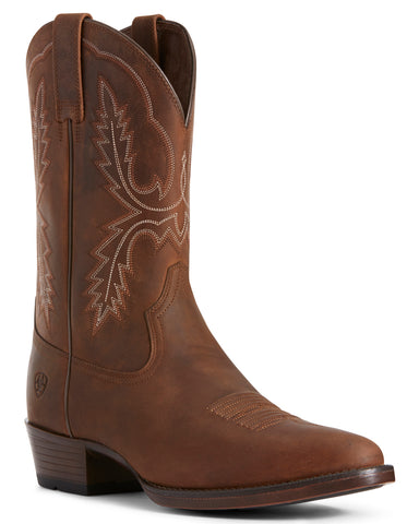 Men's Bar Sour Western Boots - Brown