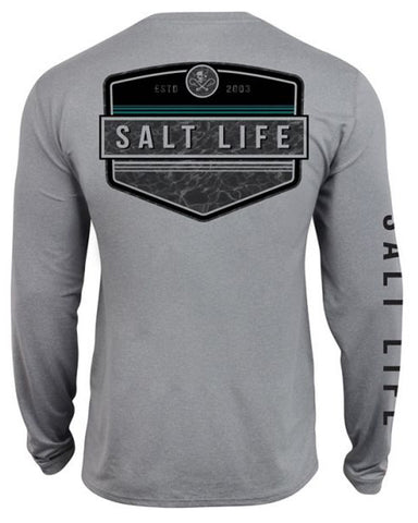 Men's Calm Waters Performance T-Shirt - Grey