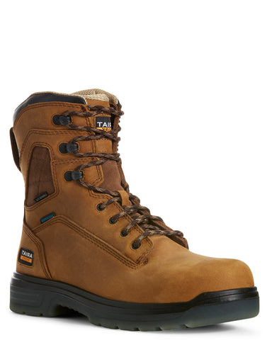 "Men's Turbo 8"" H20 Lace-Up Boots"