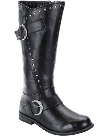 Women's Sapphire Double Buckle Boots