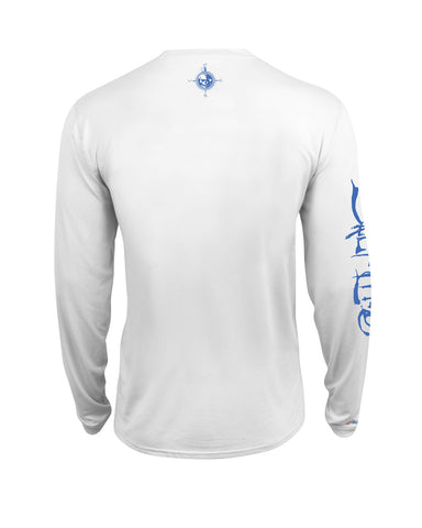 Men's Captain SLX UVapor Long Sleeve Shirt - White