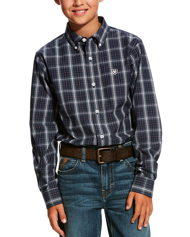 Kid's Daytona Performance Western Shirt