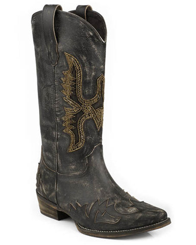 Women's Sky Beaded Eagle Boots