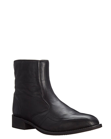 Men's Hoxie Mid Side Zipper Boots - Black