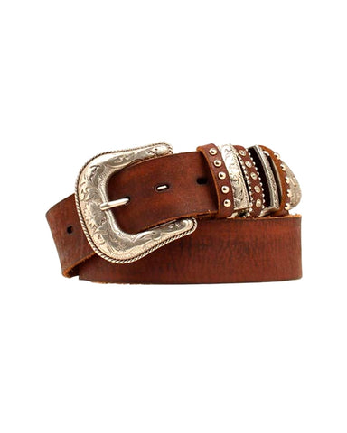 Women's Multikeeper Leather Belt