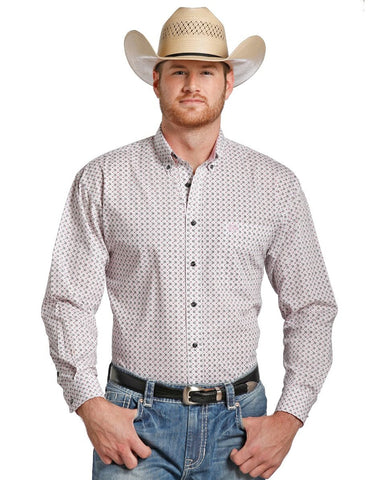 Mens Snap Up Western Shirt