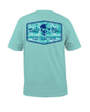 Mens At Ease Surf T-Shirt - Blue