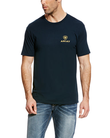 Mens Corporate Logo Athletic T-Shirt