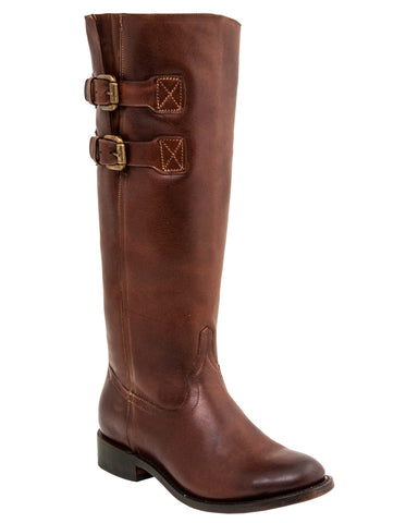 Womens Paige Boots - Rust