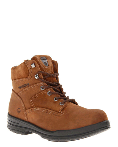 "Mens 6"" Steel-Toe Durashock Lace-Up Boots"