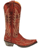 Womens Nevada Embroidered Leather Boots