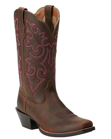 Womens Round Up Boots