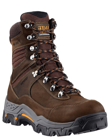 "Mens Trek 8"" Workhog Lace-Up Boots"