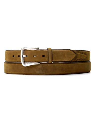Men's Distressed Belt - Brown