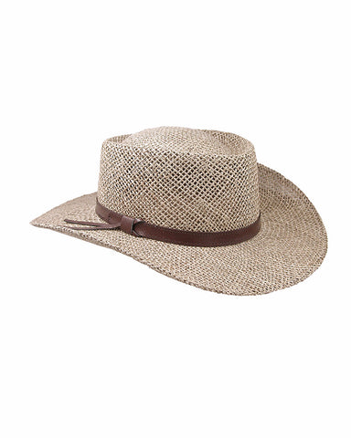 Stetsons Gamber Seagrass Straw Hat