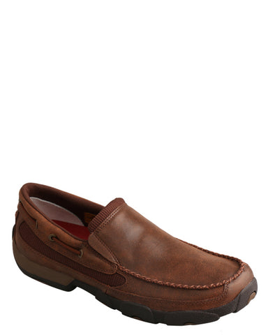 Men's Driving Moccasins - Brown