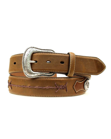 Men's Distressed Barbwire Belt