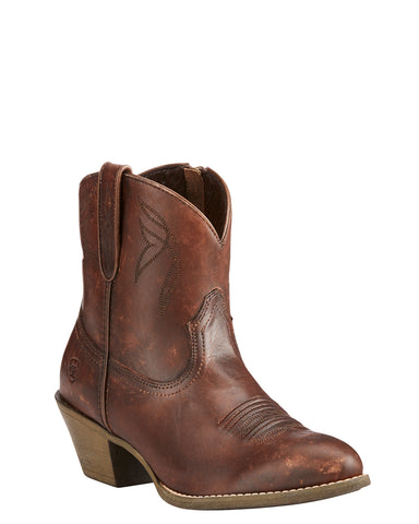 Womens Darlin Ankle Boots - Brown