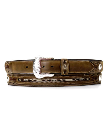 Men's Top Hand Belt - Brown