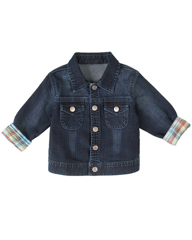Toddler's Fall Round Up Denim Jacket