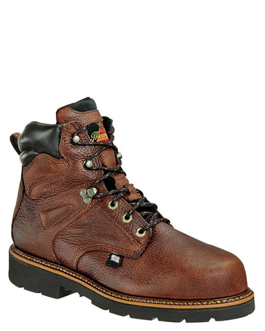 "Mens 6"" Waterproof Safety-Toe Boots"