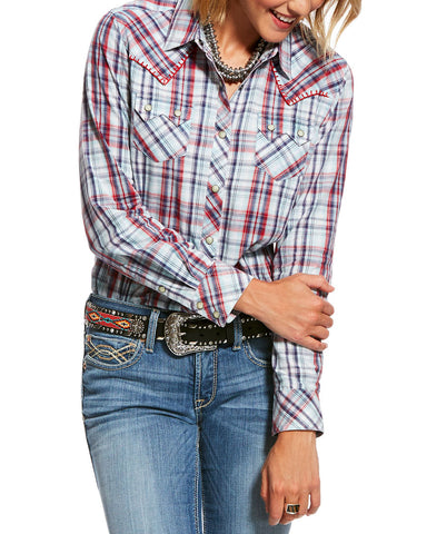 Women's Real Vibrant Long Sleeve Western Shirt