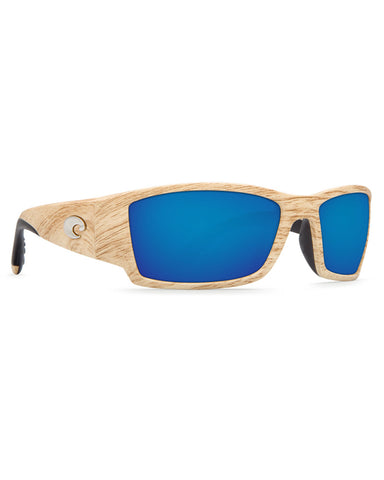 Corbina Blue Mirror Sunglasses - Ashwood