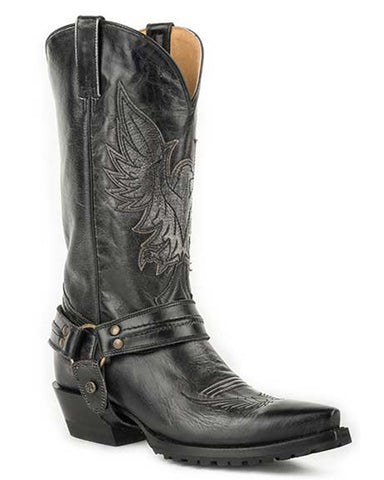 Men's Moto Eagle & Harness Boots