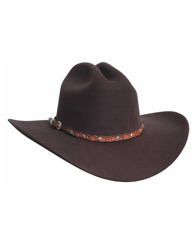 Bullhide Pistol Pete 6X Wool Hat - Chocolate