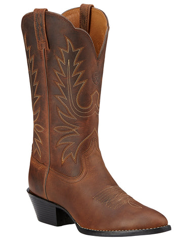Womens Heritage Western R Toe Boots